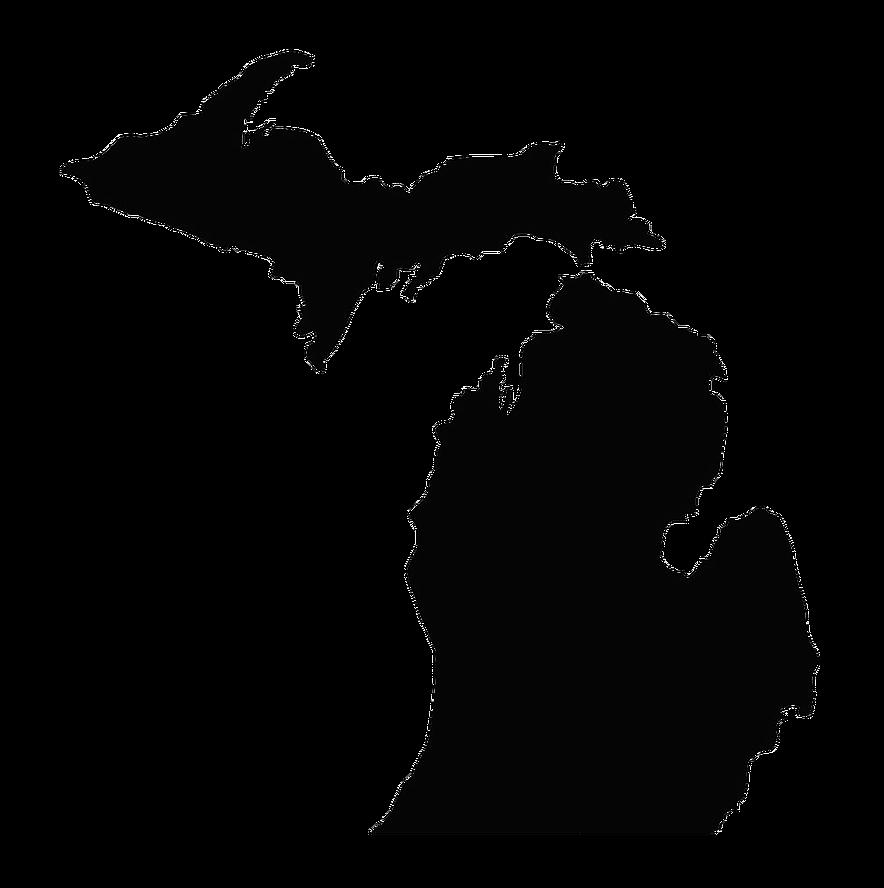 svg royalty free stock State university u s. Michigan clipart