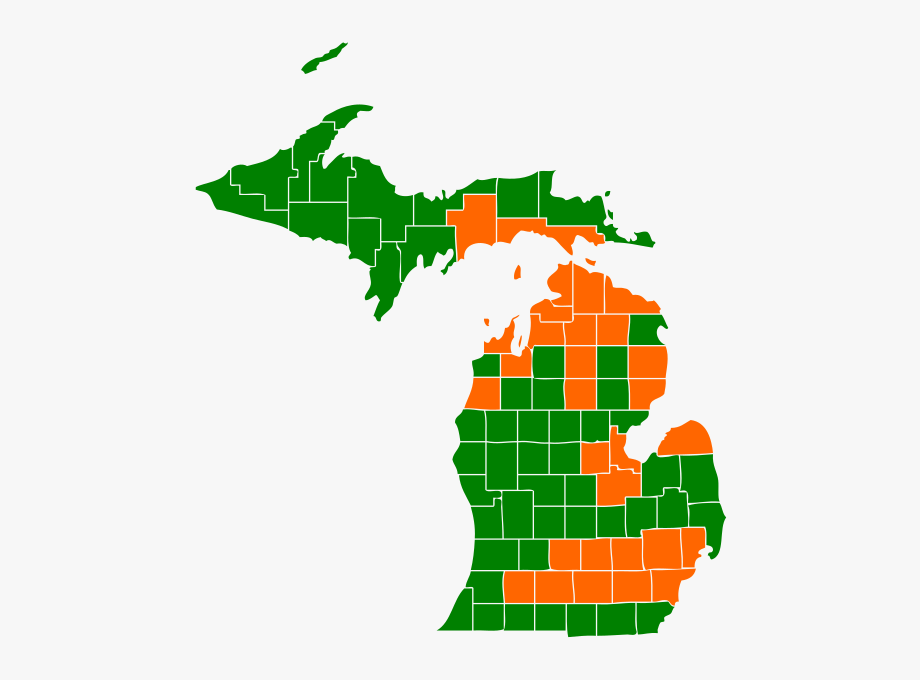 picture free stock Election map . Michigan clipart clip art.