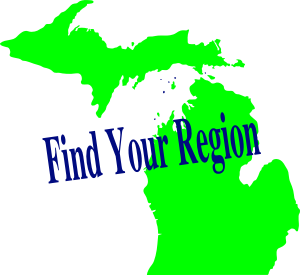 vector black and white library Michigan clipart clip art. Region at clker com.