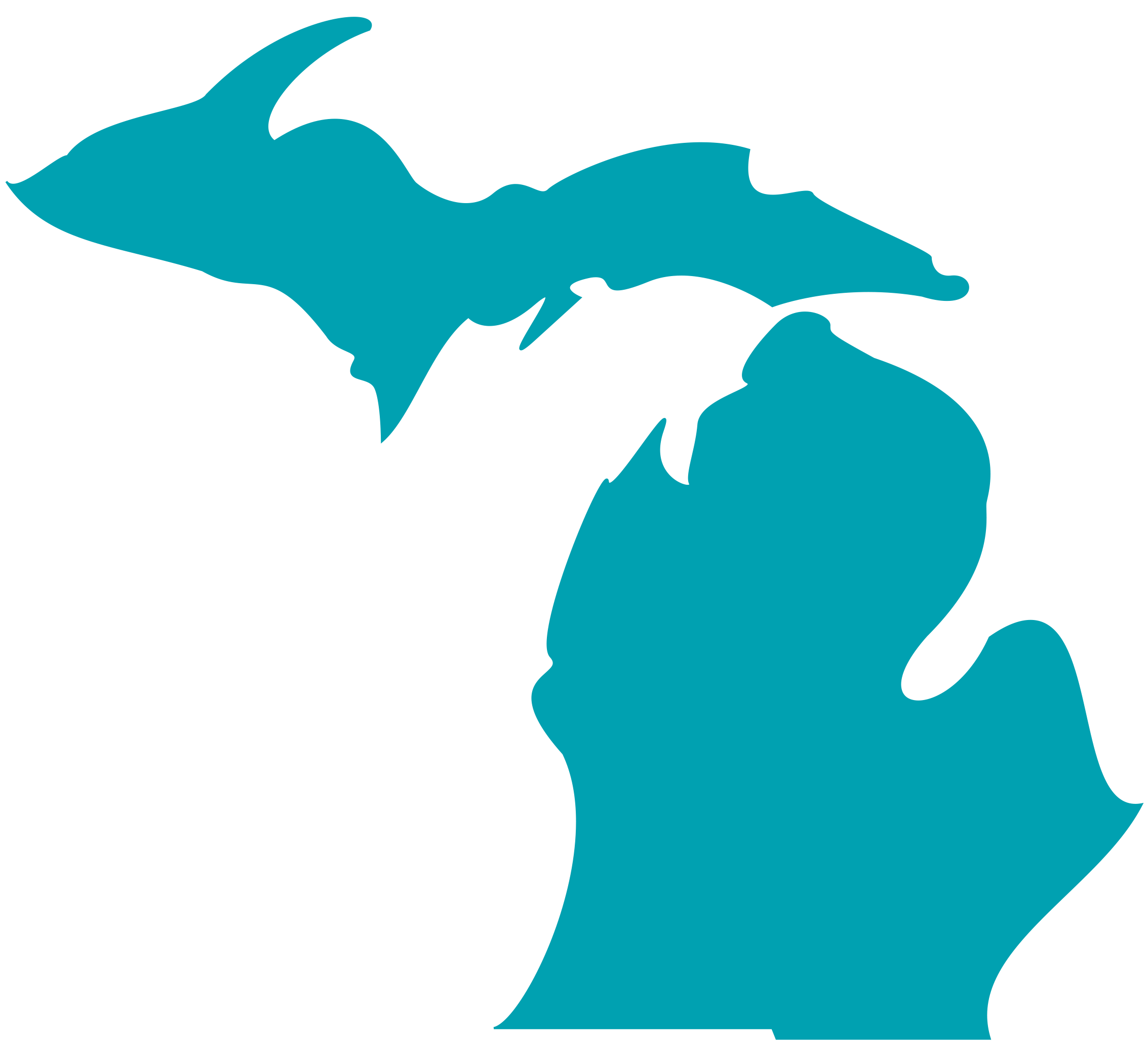 picture freeuse download Our story . Michigan clipart shape.