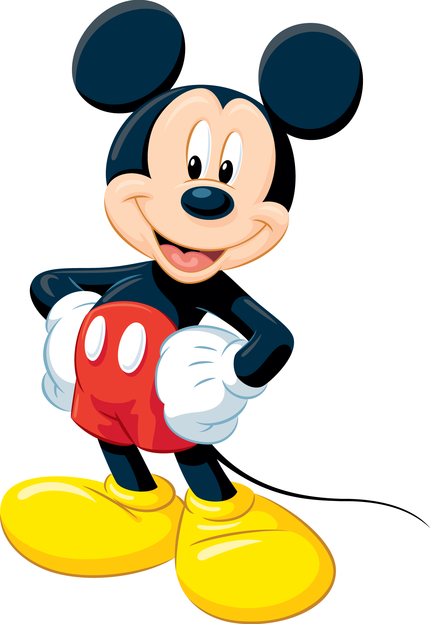 vector free Mickey Mouse PNG images free download