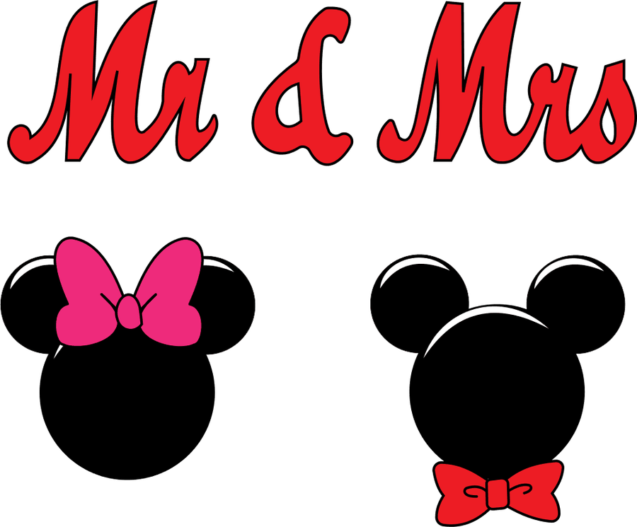 svg black and white stock Mr and Mrs Mouse Clipart