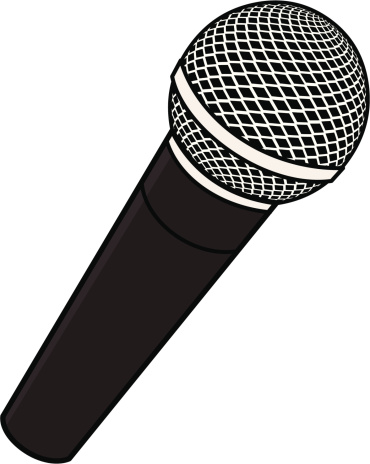 png black and white download Microphone clipart. Microphones collection clip art.