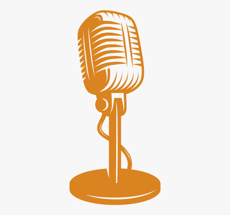 clip art freeuse Talk show png . Microphone clipart.