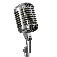 png Microphone clipart sparkle. Download free png photo.