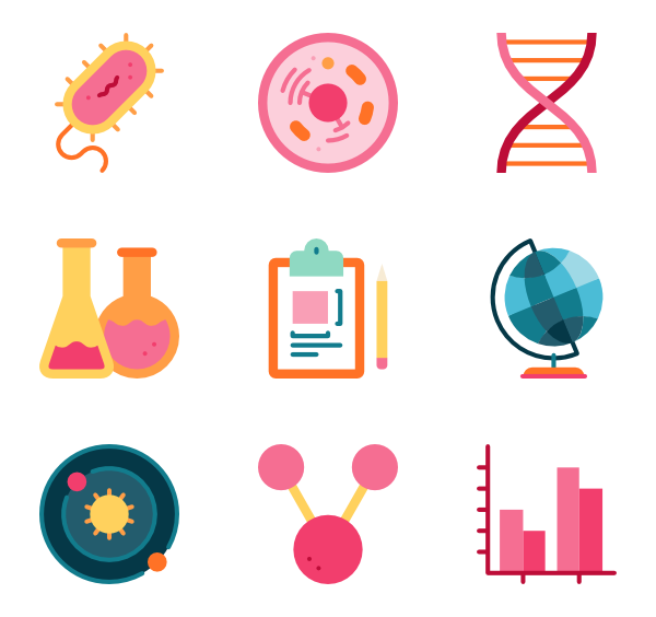 banner freeuse stock Laboratory Icons