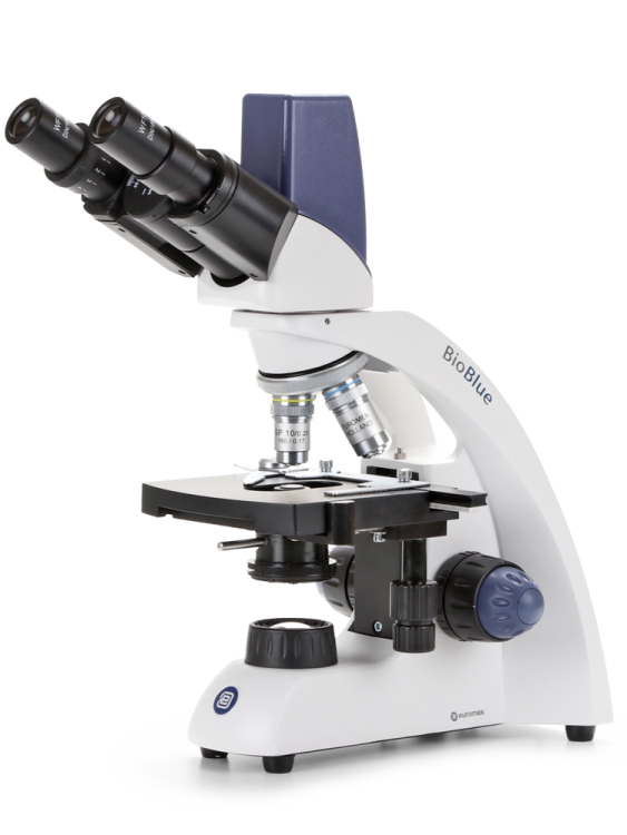 picture transparent Bioblue digital euromex. Microscope clipart pathologist
