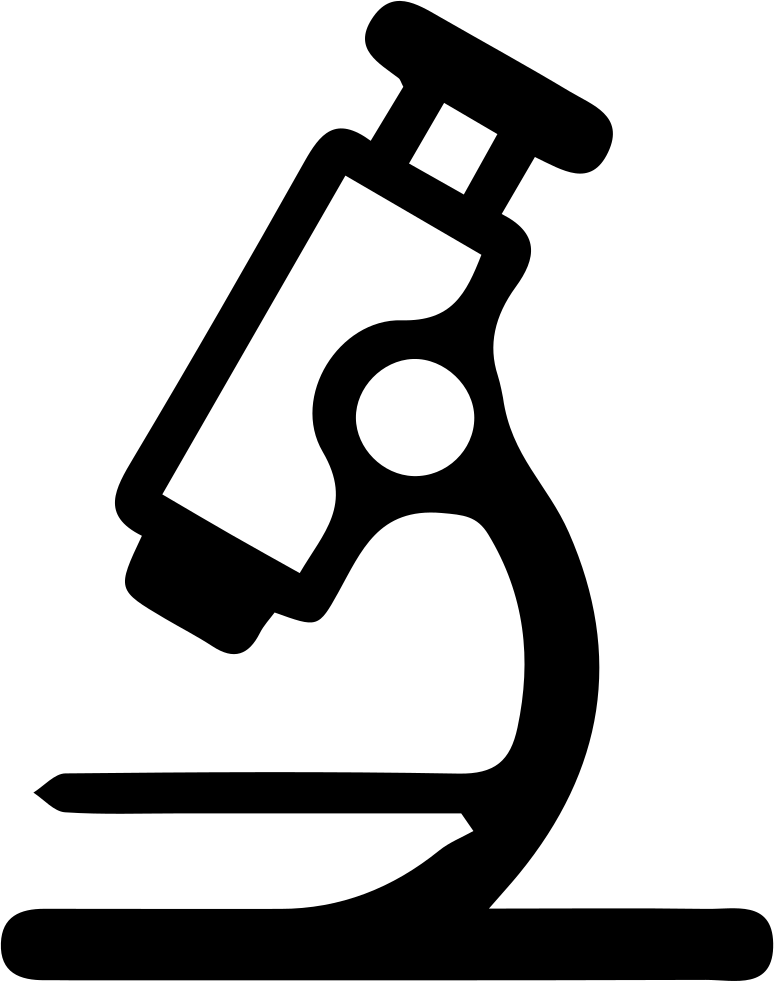 clipart library library Transparent free for . Microscope clipart svg.