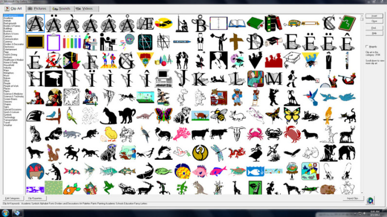 graphic free library Microsoft clipart. Clip art has finally.