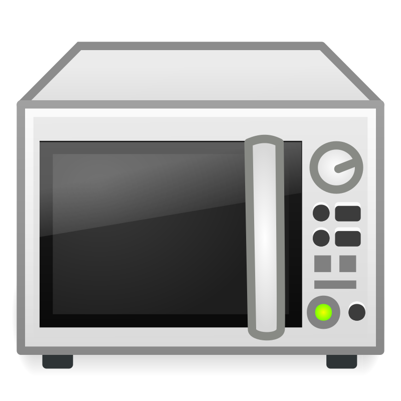 banner royalty free library Microwave clipart. Medium image png