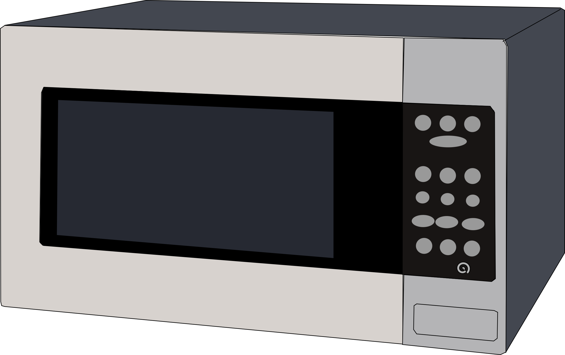 clipart stock Microwave. Toaster clipart oven