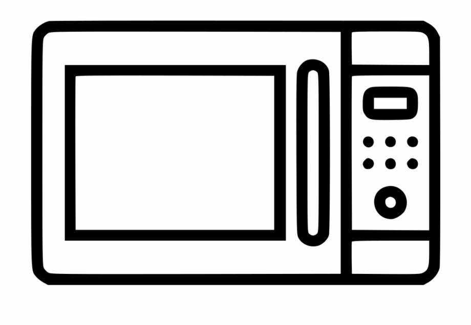 jpg free stock Microwave clipart. Transparent icon