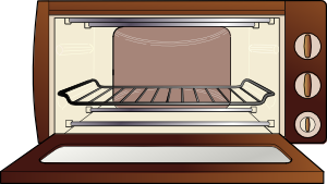 svg stock Oven clip art at. Microwave clipart heating.