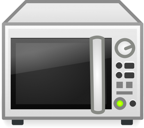 clip freeuse Microwave clipart heating. Heater appliance cooking free.