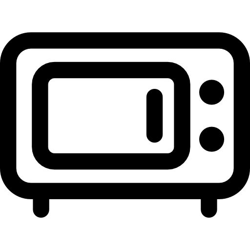 svg download Oven furniture and household. Microwave clipart heating.