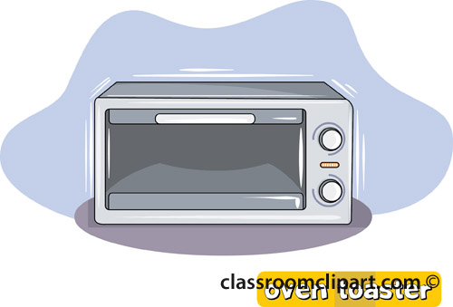 vector Clip art library . Toaster oven clipart.