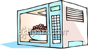 clip library stock Microwave clipart pretty. Food in a royalty.