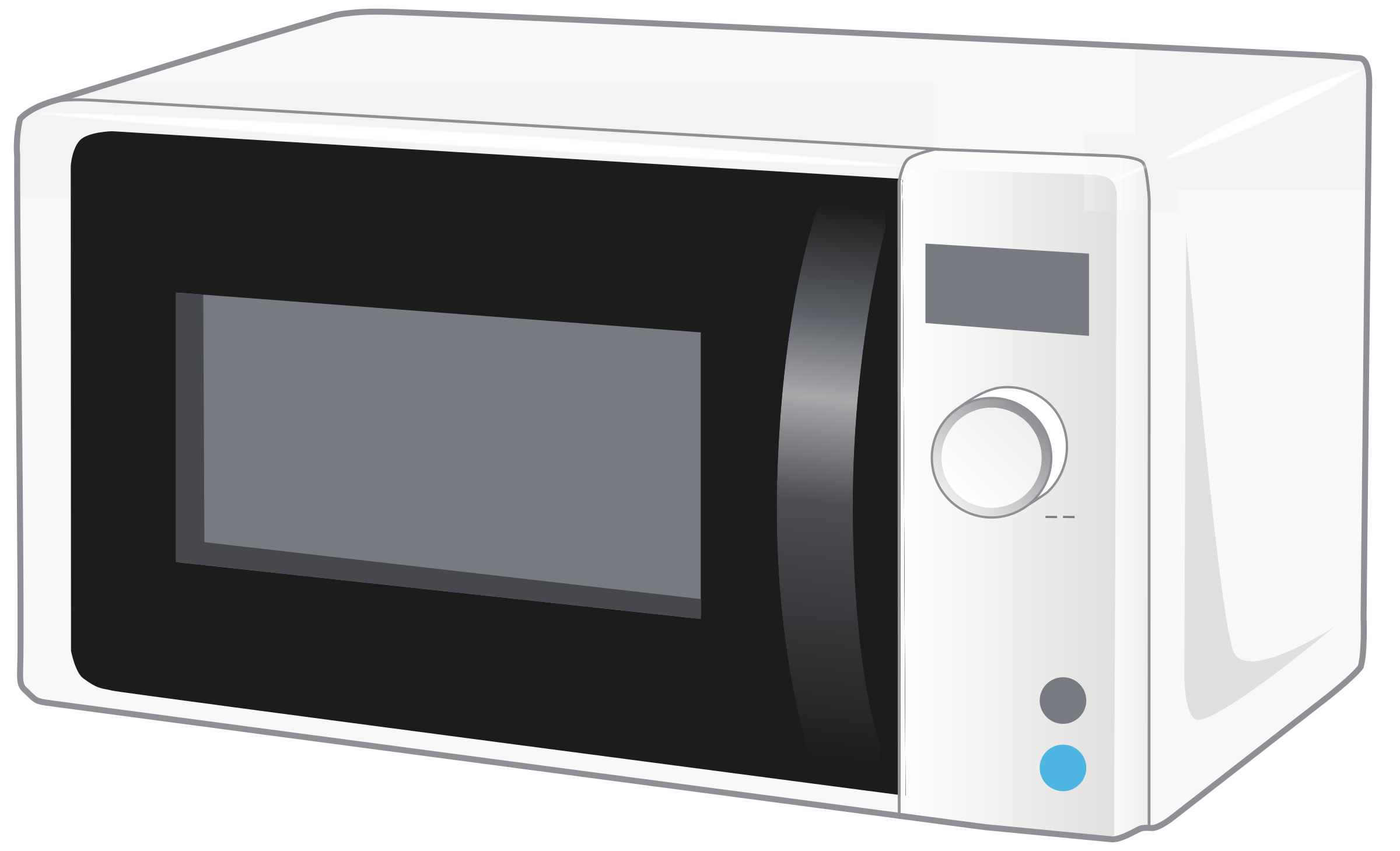 png black and white Microwave clipart pretty. Simple microvawe oven d.