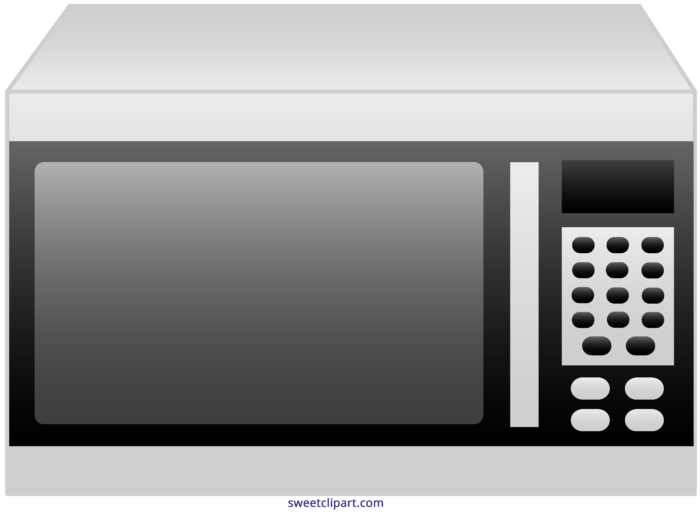 jpg royalty free Oven sweet clip art. Microwave clipart pretty.