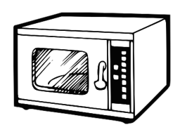 graphic free stock Free cliparts download clip. Microwave clipart