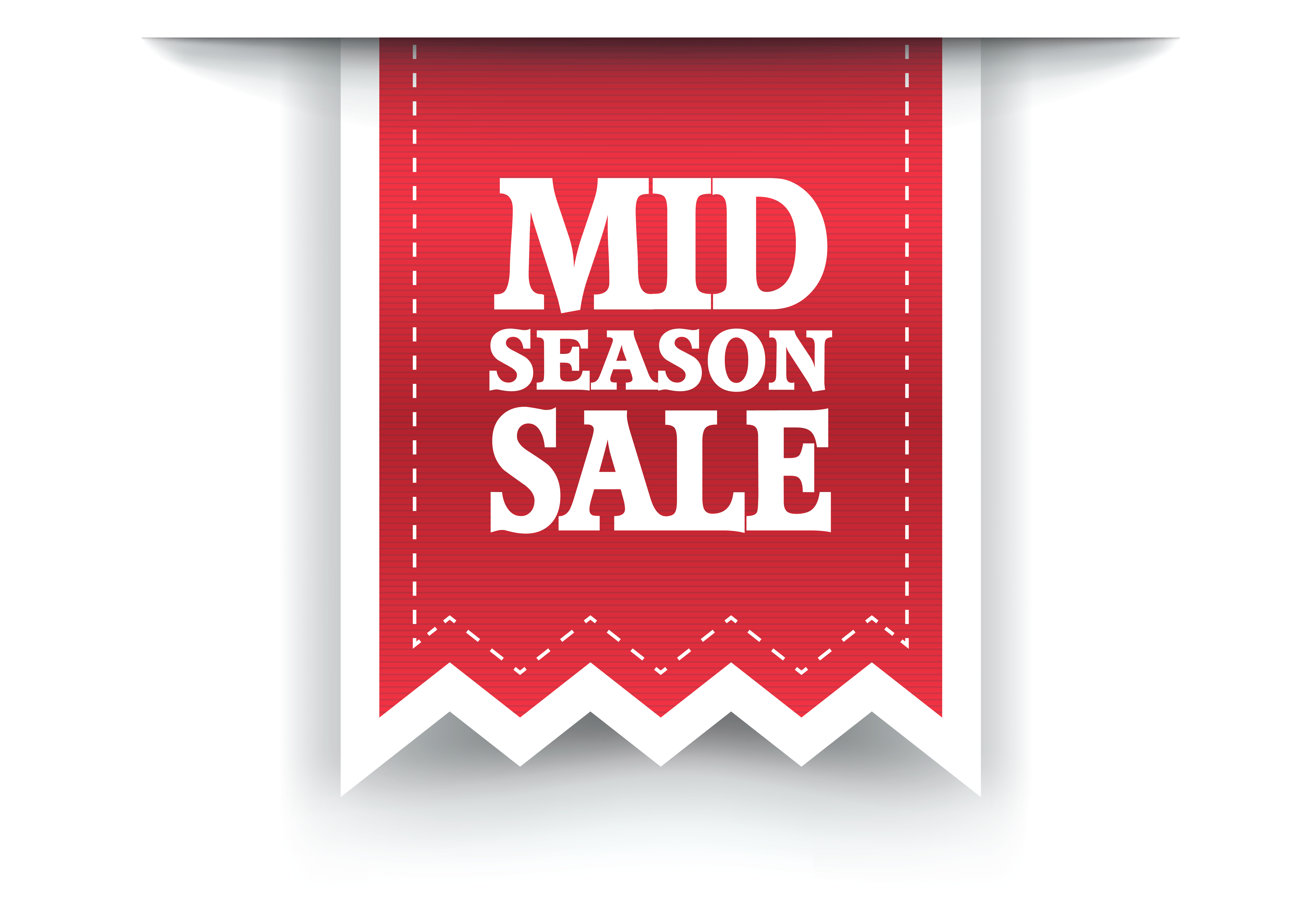 image transparent stock Middle clipart protocol. Red mid season sale.
