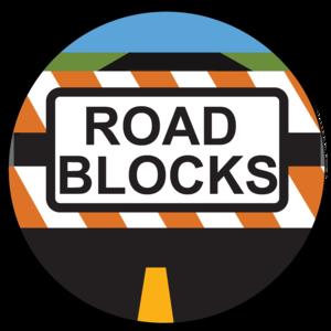 free stock Middle clipart roadblock. Roadblocks.