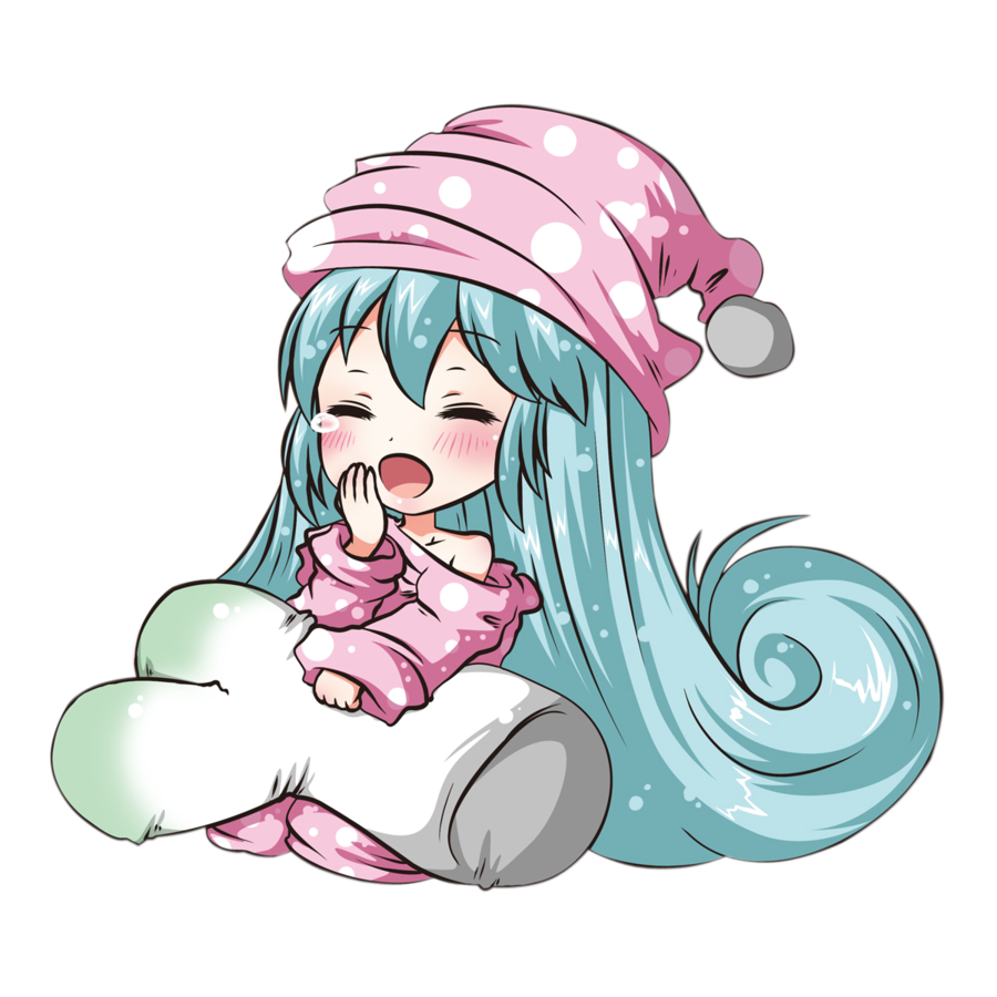 png transparent Miku chibi render by Arriiety