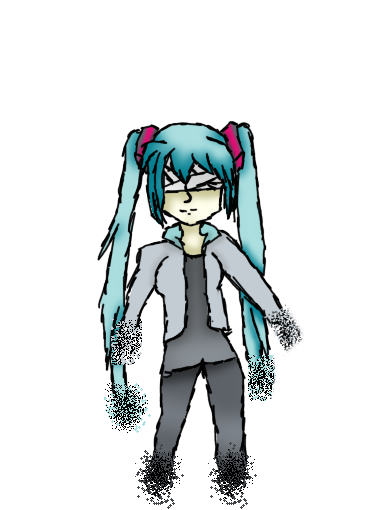image freeuse library The Disappearance Of Miku Hatsune by easterlil on DeviantArt