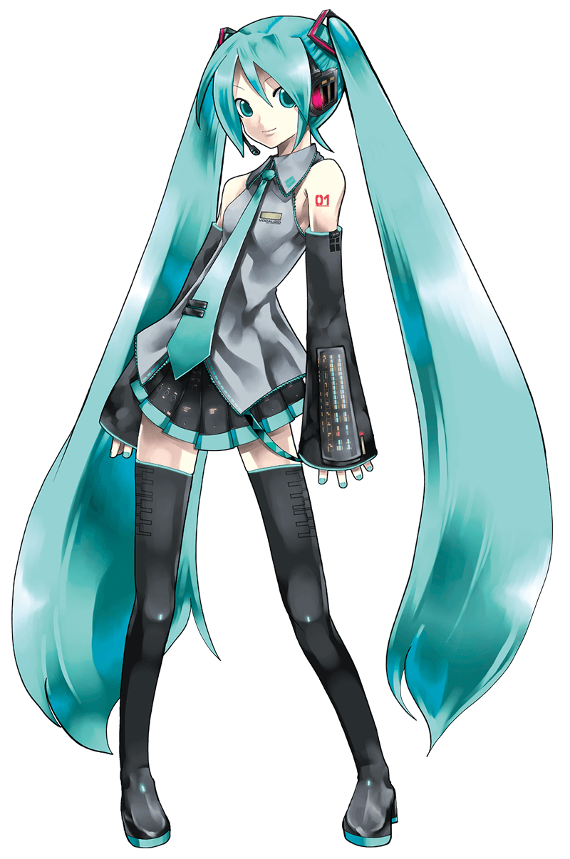 png royalty free stock Official VOCALOID illustrators