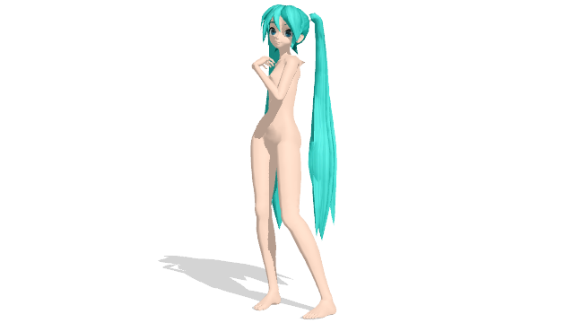 graphic transparent library miku figure drawing pose