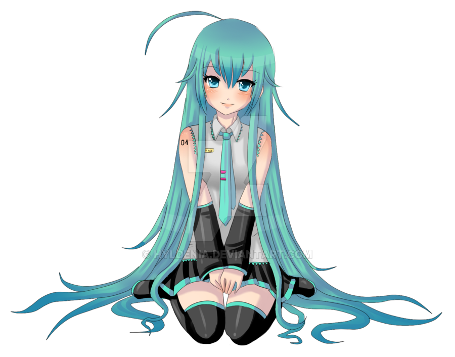image free library Miku without background by Hyldenia on DeviantArt