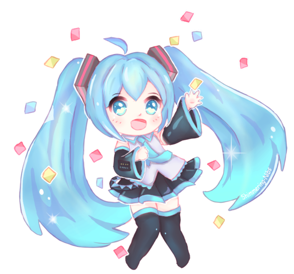 svg transparent download miku transparent birthday #99785119