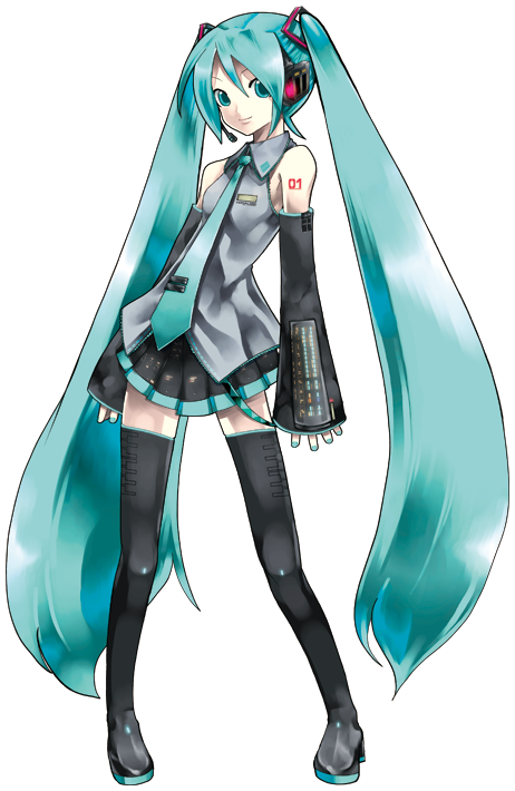 image transparent download Hatsune Miku