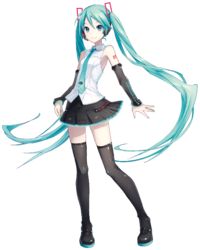 svg freeuse library miku transparent design #99791232