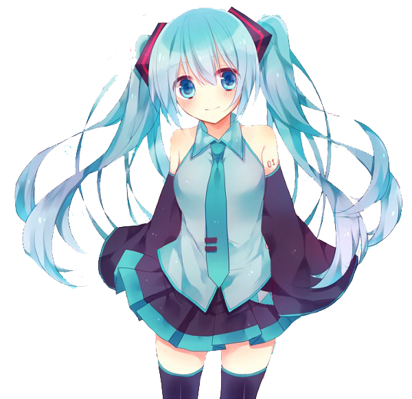 clip library library Download Hatsune Miku HQ PNG Image