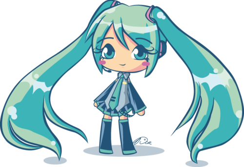 banner free stock Hatsune by dcrmx on. Miku transparent kawaii
