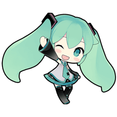 clipart freeuse stock Hatsune Miku