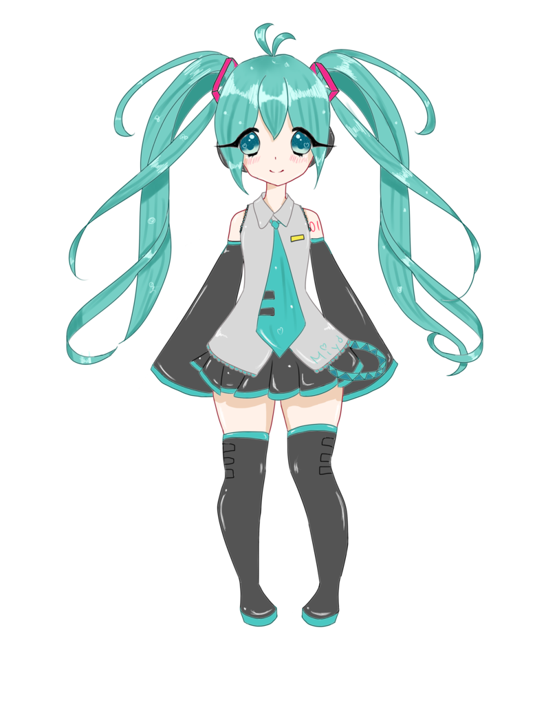 vector download Hatsune Miku