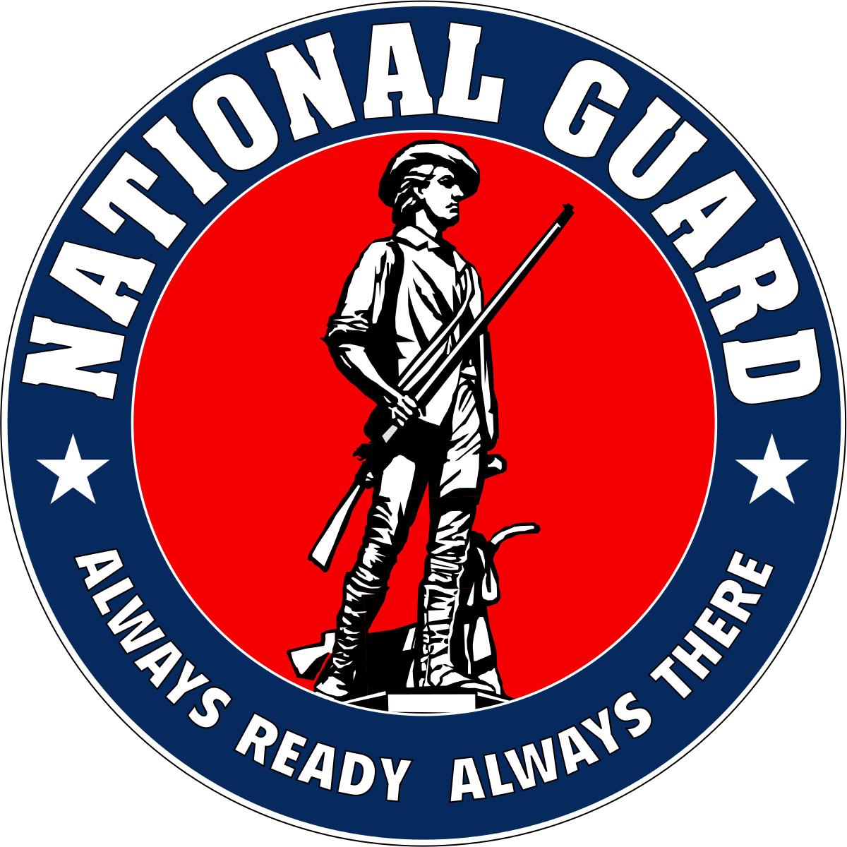 vector royalty free library Guard of the united. Military clipart national security.