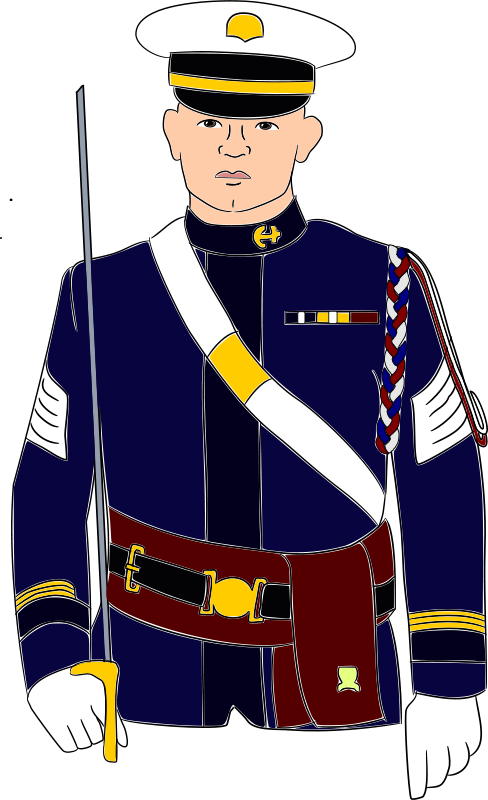 picture royalty free Navy free on dumielauxepices. Military clipart uniform marine.