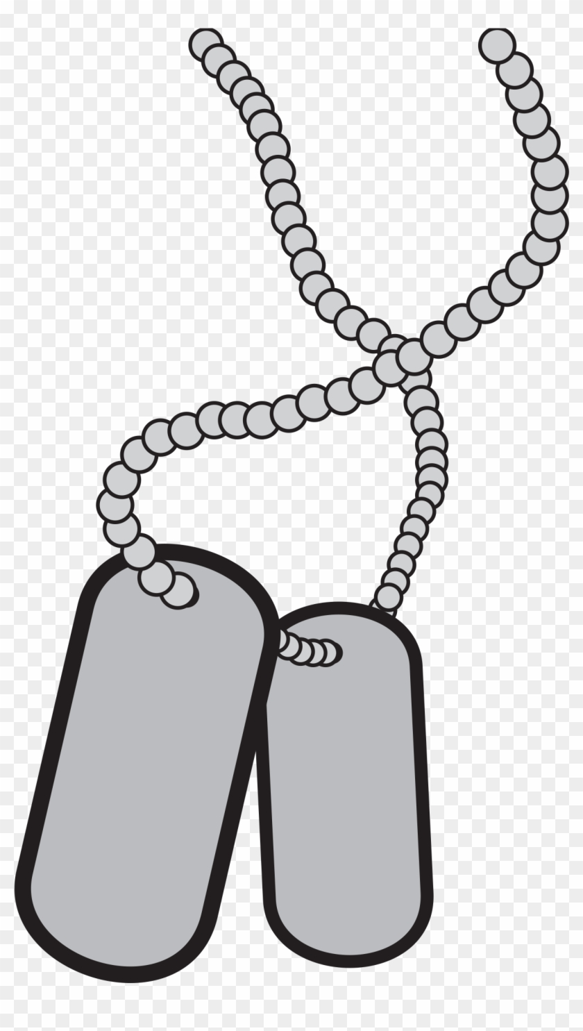 vector free Tags service armed forces. Military dog tag clipart
