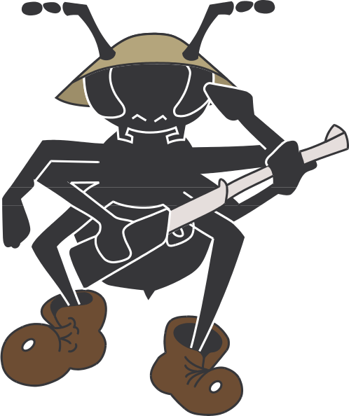 picture royalty free library Clipart army soldier. Military ant clip art