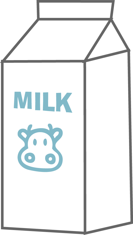 svg royalty free library Cartoon . Milk clipart