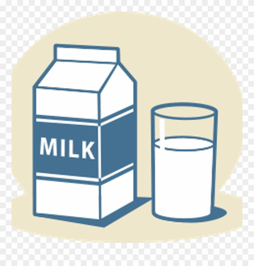 clip transparent library Lunch png download . Milk clipart