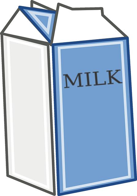 banner royalty free stock Milk clipart vendor. Free image on pixabay.
