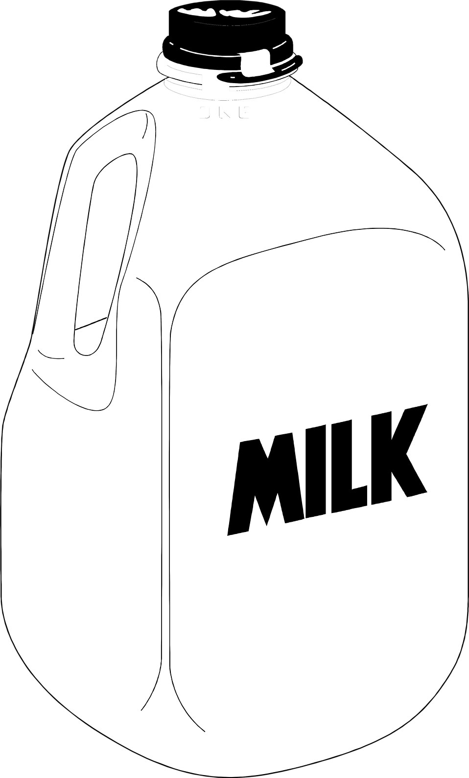 jpg royalty free library milk vector jug #114512794