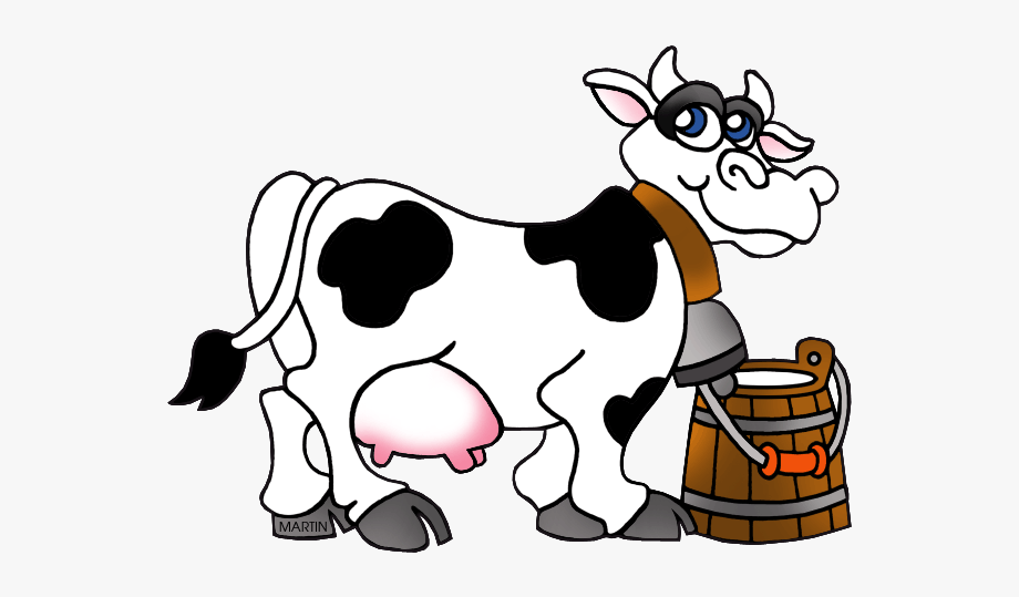 svg free Dairy transparent . Milking a cow clipart