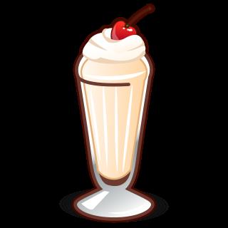 image Milkshake clipart. Emoji free on dumielauxepices