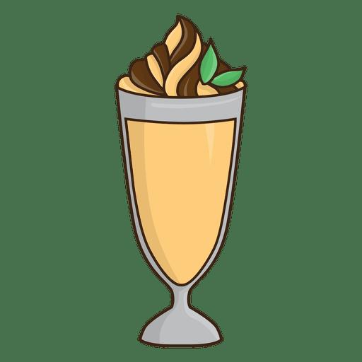 clip art Milkshake caramel dessert