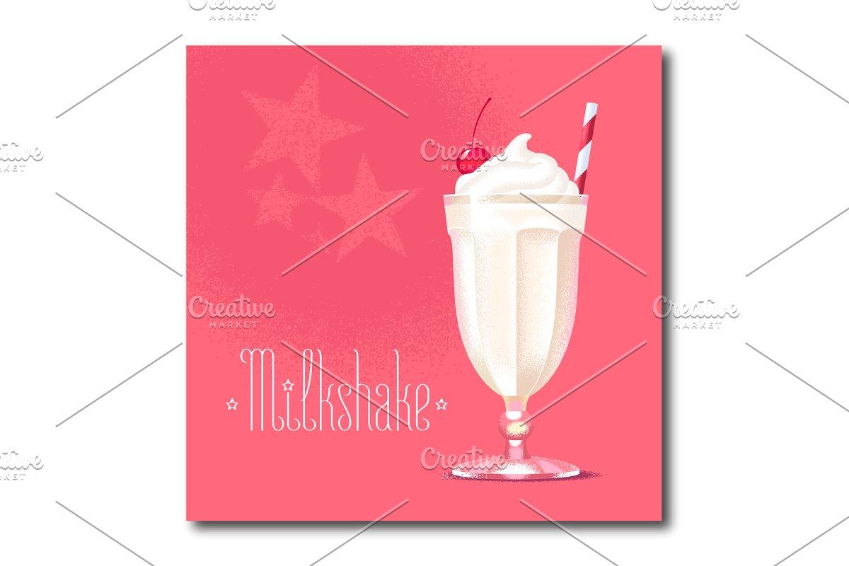 clipart library download Milkshake vector illustration